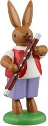 Hasenmusikant mit Fagott