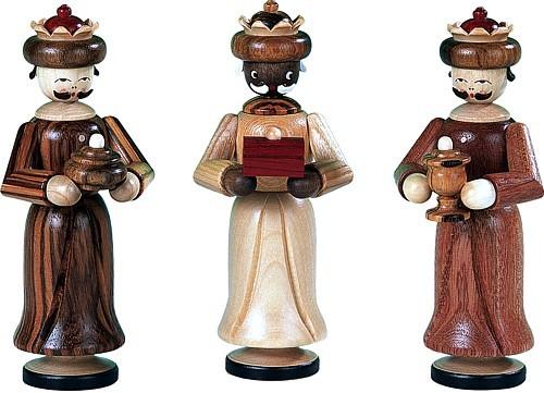 Heilige 3 Könige, natur, 13cm