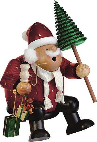 großer Kantenhocker Weihnachtsmann