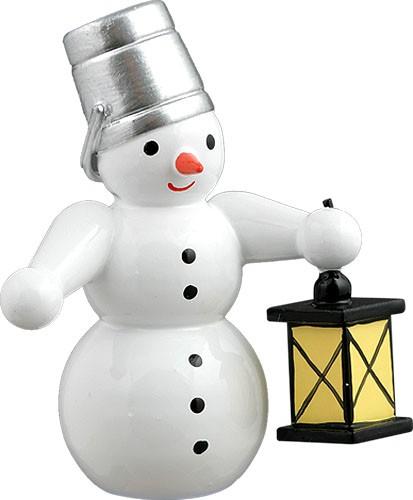 Schneemann - mit Lampe