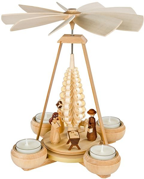 Pyramide klein, Christi Geburt