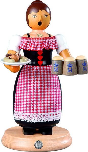 Räucherfrau, Oktoberfest - Kellnerin, groß