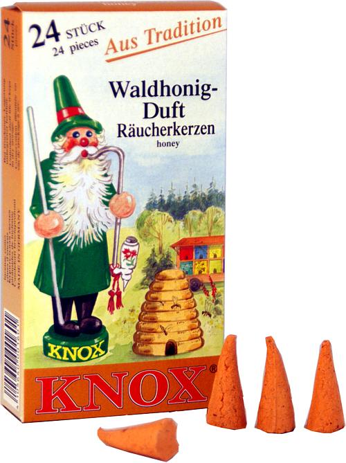 KNOX Räucherkerzen - Waldhonig