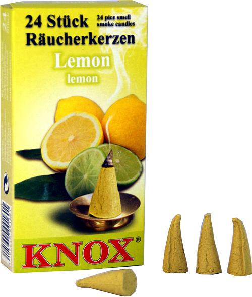 KNOX Räucherkerzen - Lemon