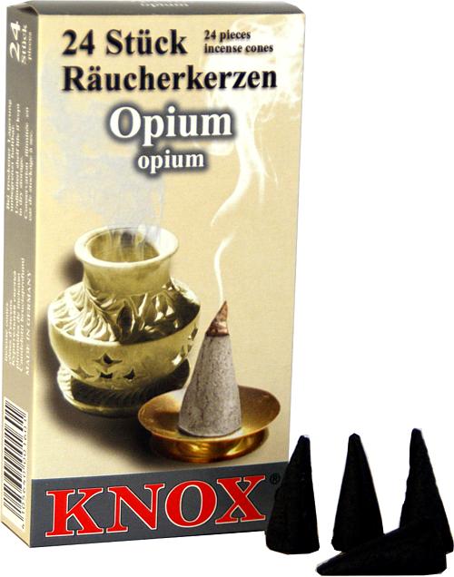KNOX Räucherkerzen - Opium