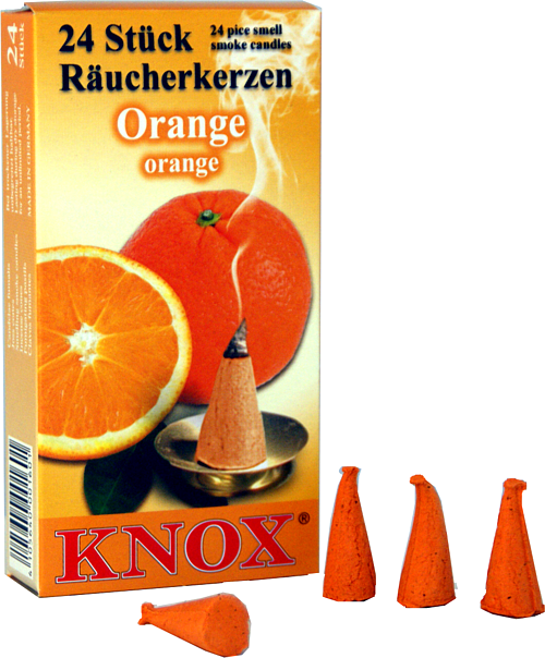KNOX Räucherkerzen - Orange