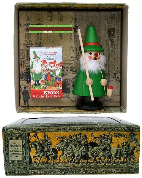 KNOX-Wichtel im Geschenkkarton