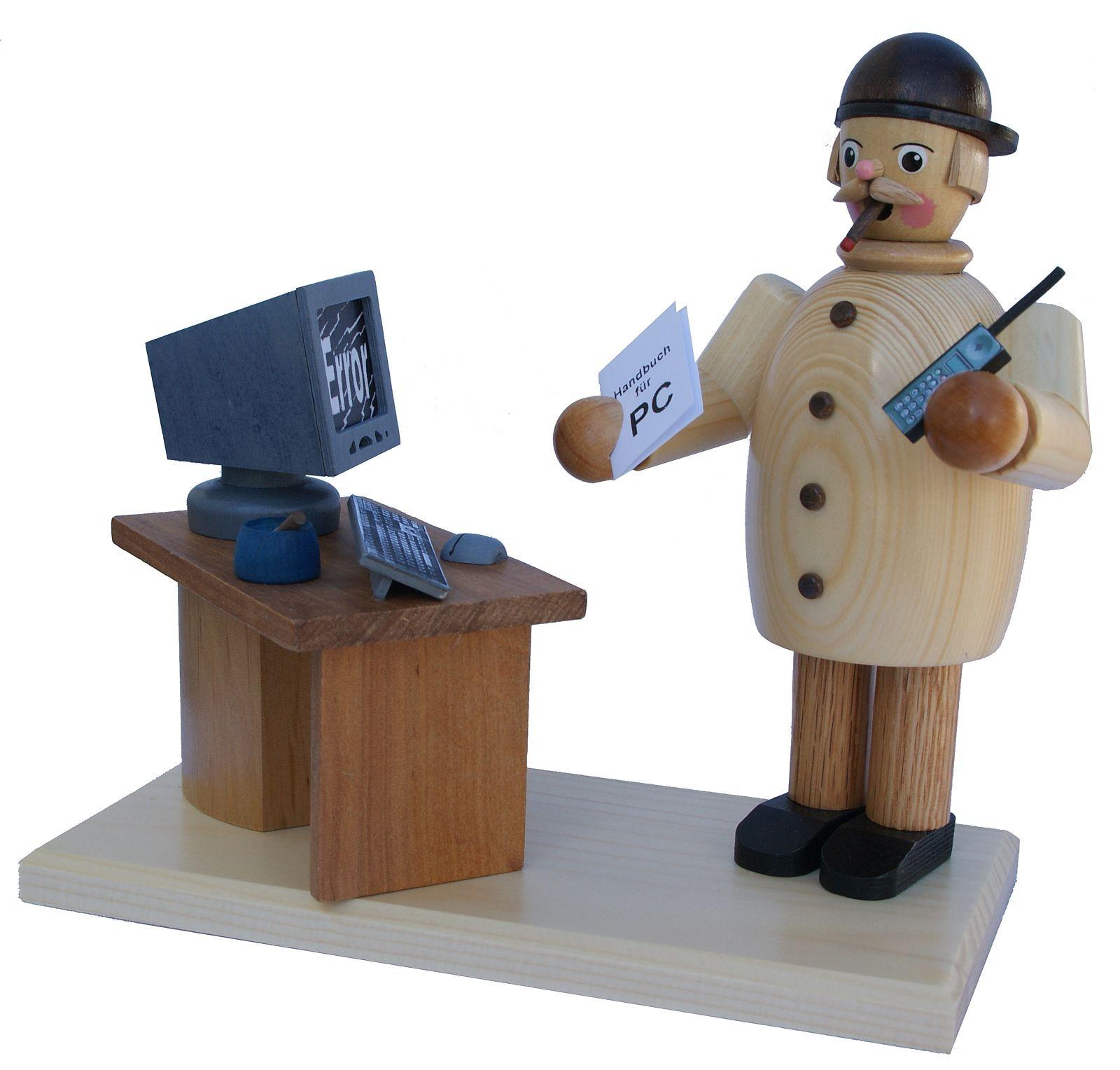 Räuchermann Computerfreak