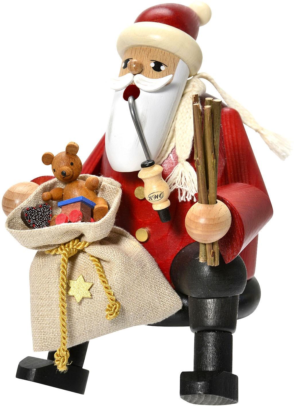 Kantenhocker Weihnachtsmann -Die Bärtigen-