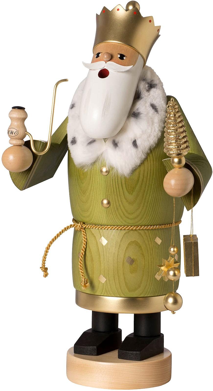Räuchermann Heilige Drei Könige Balthasar, groß -die Bärtigen-