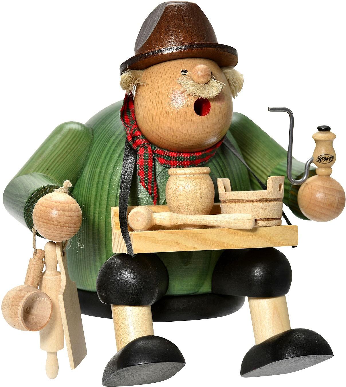 Kantenhocker Holzwarenhändler -Die Dicken-
