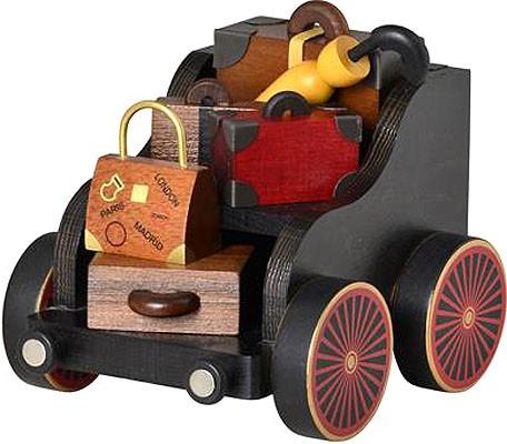 Gepäckwagen für Eisenbahn