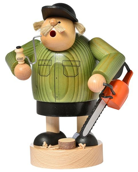 Räuchermann Forstarbeiter -Die Dicken-