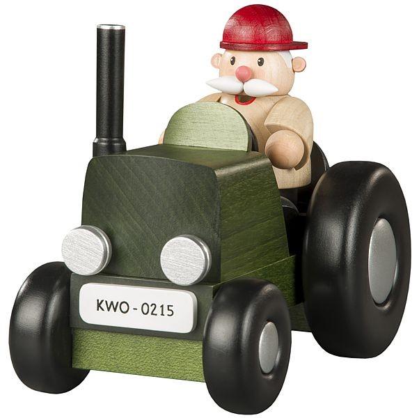 Räuchermann Traktorfahrer, mini