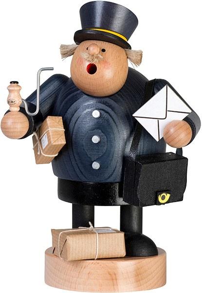 Räuchermann Postbote -Die Dicken-