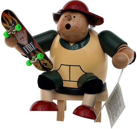 Kantenhocker Skateboarder