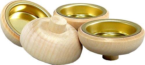 Teelichtaufsätze für Kerzentüllen