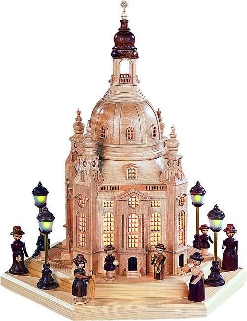 Lichterhaus Frauenkirche Dresden