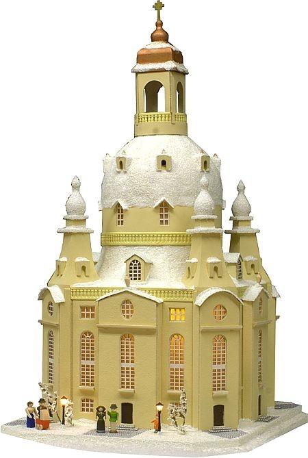 Dresdener Frauenkirche im Winter