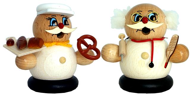 Moppelmänner -Bäcker oder Doktor -