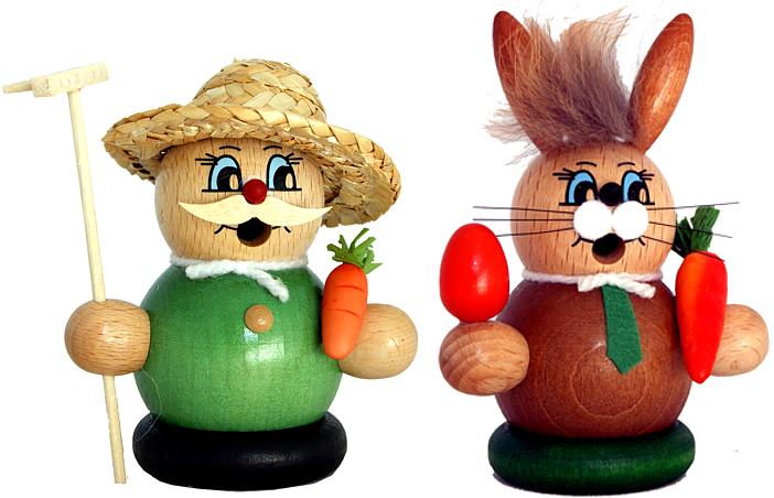 Moppelmänner -Gärtner oder Hase-