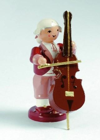 Mozart Orchester Musiker mit Kontrabass