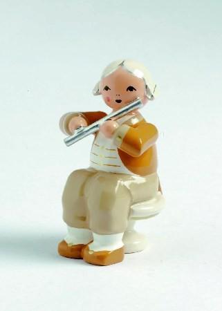 Mozart Orchester Musiker mit Querflöte