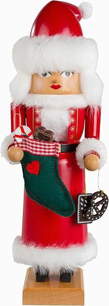 Nussknacker Mrs. Santa