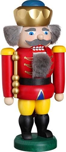Nussknacker König, rot