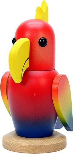 Knackvogel, Papagei
