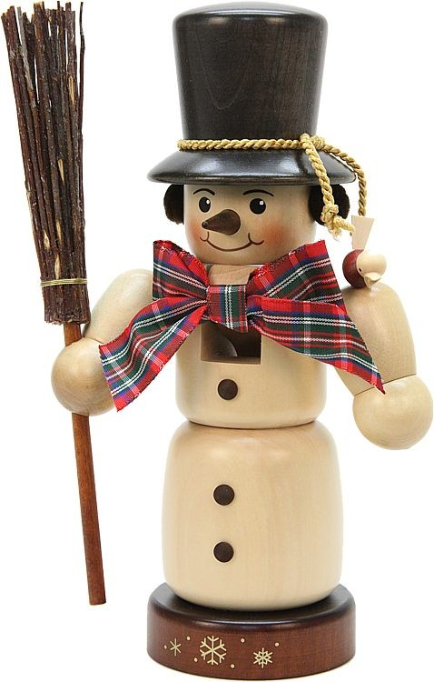 Nußknacker Schneemann natur