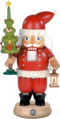 Nussknacker Weihnachtsmann mit Baum