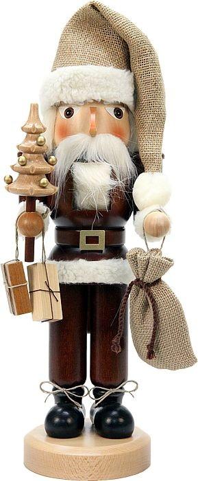 Nußknacker Weihnachtsmann natur