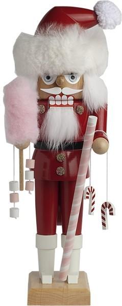 Nussknacker Zuckerstangen Santa
