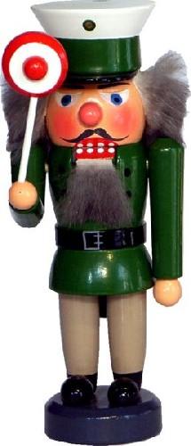 mini Nußknacker Polizist