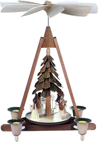 Pyramide Engel, 4 Figuren