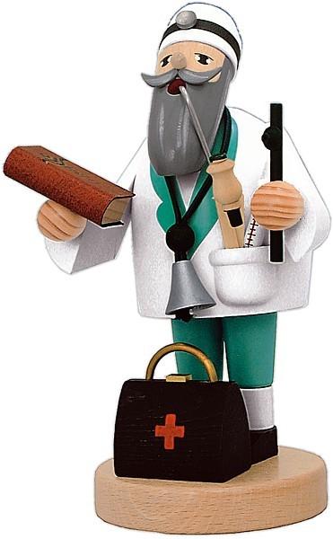 Räuchermännchen Doktor -die Bärtigen-
