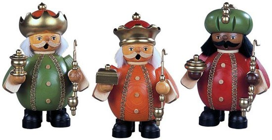 Räuchermänner Heilige 3 Könige, klein
