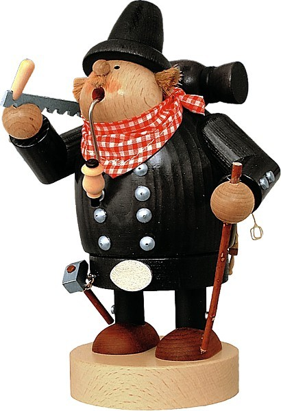 Räuchermännchen Zimmermann -Die Dicken-