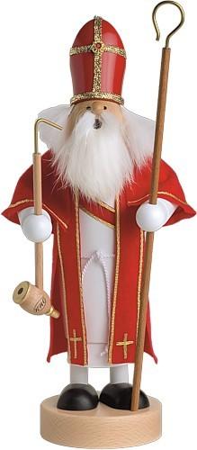 Räuchermännchen Heiliger St. Nikolaus -Die Schlanken-