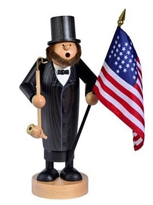 Räuchermann Abraham Lincoln -Die Dünnen-