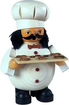 Räuchermann Bäcker, Größe 14 cm