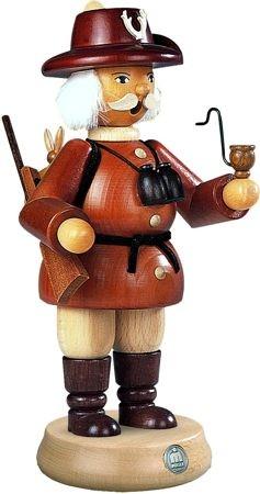 Räuchermann Förster, braun, groß