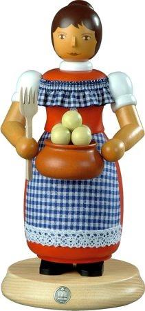 Räuchermann Kloßfrau, groß