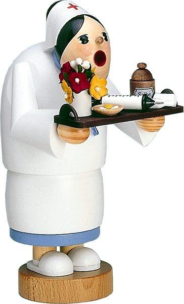 Räuchermann Krankenschwester