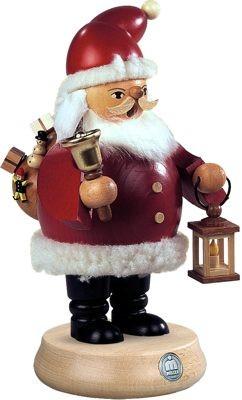 Räuchermann Weihnachtsmann, mittelgroß