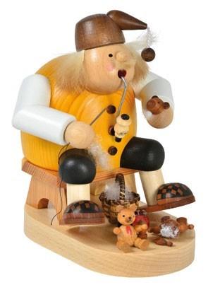 Räuchermann Teddymacher -Die Dicken-