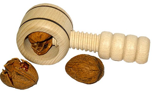 Nussknacker mit Holzgewinde
