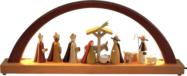 Schwibbogen Christi Geburt - neues Design