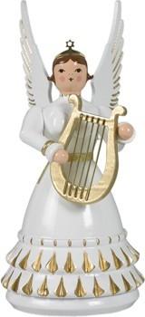 Rokokoengel mit Harfe